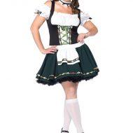 Costume grande taille 2 pieces jolie bavaroise leg avenue leg avenue 1x 2x k grandes tailles vert marron