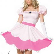 Costume princesse en rose leg avenue rose fee princesse