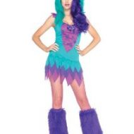 Costumes costume 2 pieces petit monstre frankie multicolore leg avenue xs