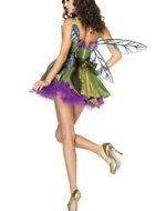 Costumes costume 4 pieces reine des tenebres noir mauve leg avenue small