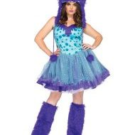Costumes costume 5 pieces cendrillon turquoise leg avenue small