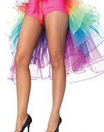 Costumes jupon arc en ciel multicolore leg avenue taille unique