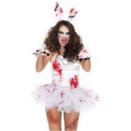 Costumes kit 3 pieces zombie lapin blanc leg avenue taille unique