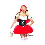 Costumes robe petit chaperon rouge rouge leg avenue xs