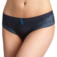 Culotte femme ouverte lovely in blue thong