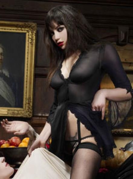 Daisy Lowe lingerie