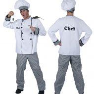 Deguisement homme de chef cuisinier