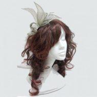 Diademe minou servante leg avenue noir blanc kit coiffure