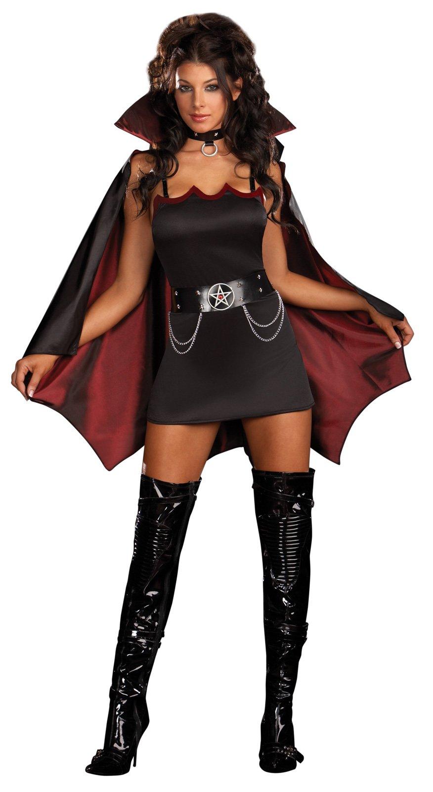 disfraz de mujer vampira