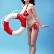 Dita Von Teese bikini