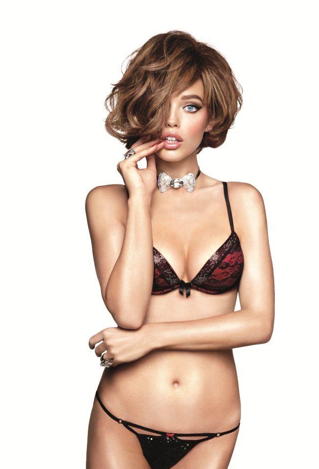 Emily DiDonato lingerie