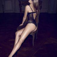 Eniko Mihalik lingerie