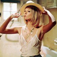 Faye Dunaway lingerie