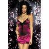 Flamenco chemise obsessive bordeaux robes lingerie courtes
