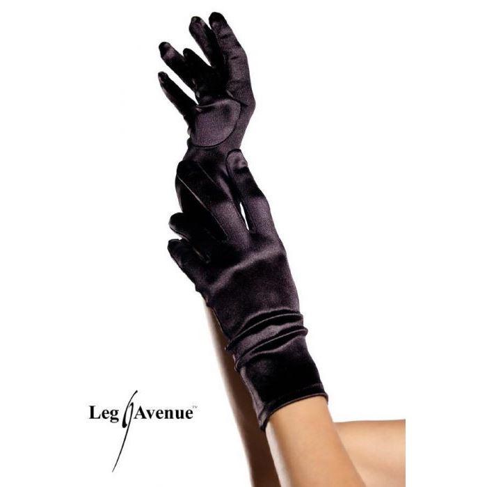 gants 1 doigt resille leg avenue bleu pale gants et mitaines