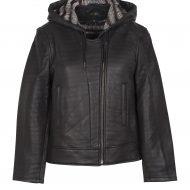 Gants coupes faux cuir leg avenue noir club wear