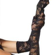 Gants longs opera dentelle pk6 leg avenue noir gants et mitaines