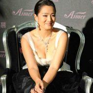 Gong Li lingerie