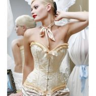 Guepiere corset satinee