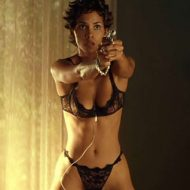 Halle Berry lingerie