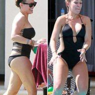 Haylie Duff bikini