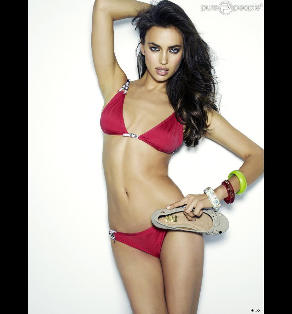 irina shayk seins lingeries
