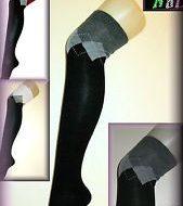 Jambieres croisillons et noeuds leg avenue noir club wear
