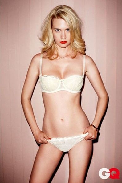 January Jones bikini