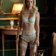 January Jones lingerie