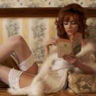 Jean Shrimpton lingerie