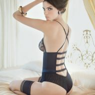 Jeisa Chiminazzo lingerie