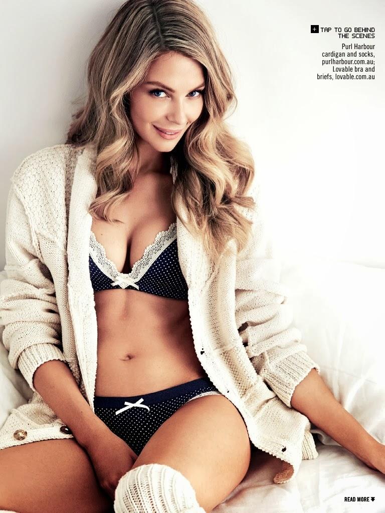Jennifer Hawkins lingerie