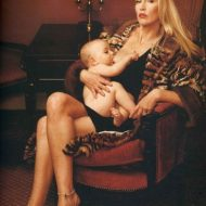 Jerry Hall lingerie
