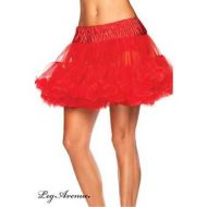 Jupon gonflant pour costumes leg avenue rouge jupons