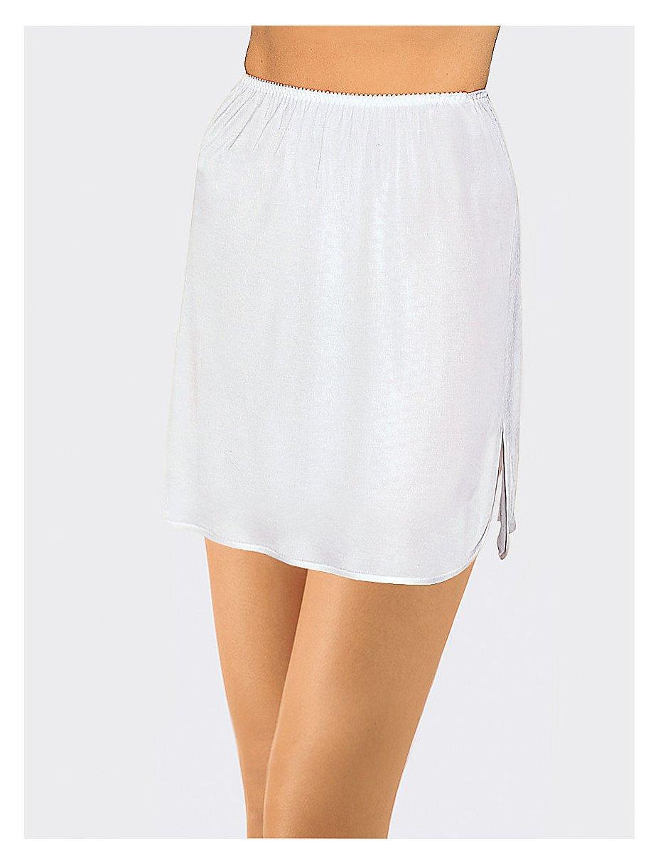 jupon mousseline de soie leg avenue rouge blanc jupons