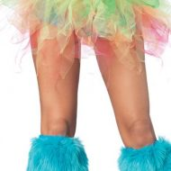 Jupons pans de tulle multicolore leg avenue multicolore jupons