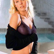 Kristen Bell lingerie