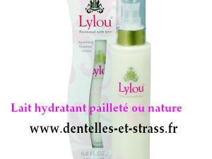 lait hydratant pour le corps nature ou paillette
