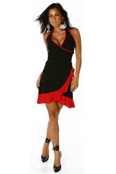latino chemise obsessive noir robes lingerie courtes