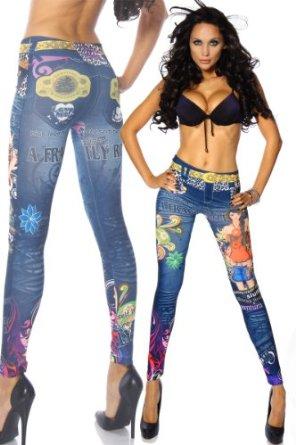 legging fashion colore couleur jeans