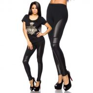 Legging fashion double effet