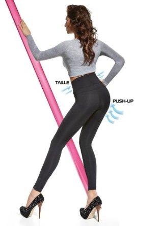 legging fesses push up et amincissement de la taille 200 deniers