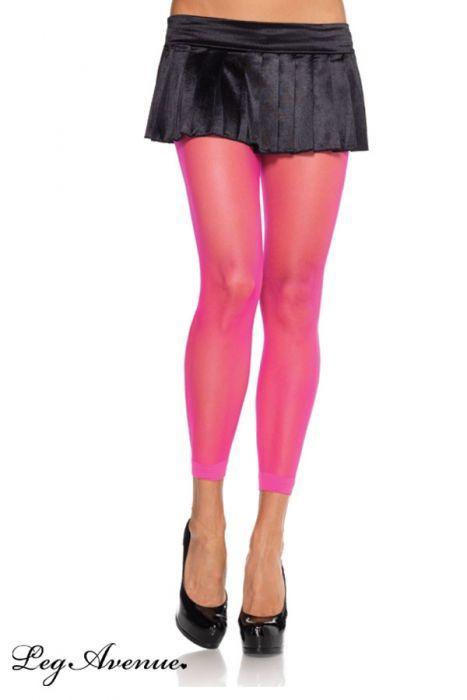 legging flashy leg avenue rose fluo bas legging jambieres