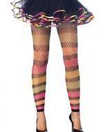 Legging voile ajoure leg avenue noir bas legging jambieres
