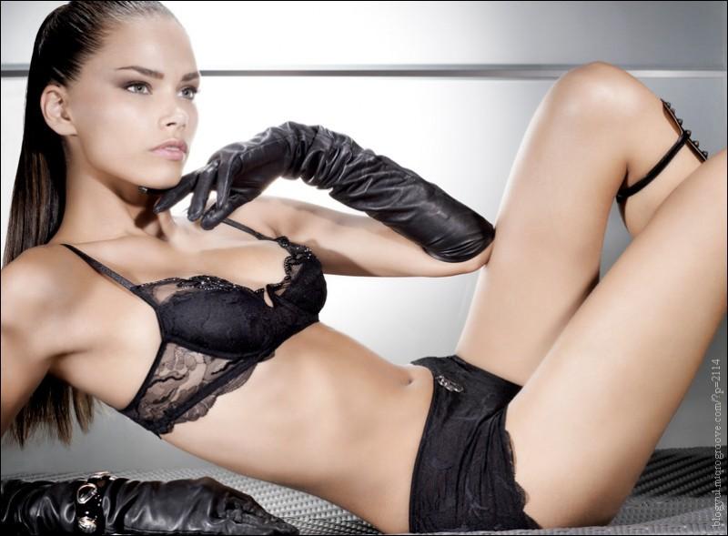lingerie 2015 Katja Shchekina