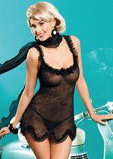 lingerie jane chemise leopard obsessive sm