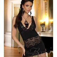 Lingerie shirley chemise noir beauty night sm