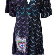 Lingerie vena robe noir passion sm