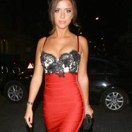 Lucy Mecklenburgh lingerie