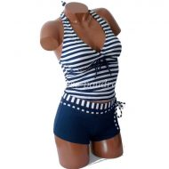 Maillot tankini shorty